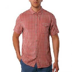 Jeremiah Men's Graham Reversible Melange Gauze SS Shirt Rhubarb Heather