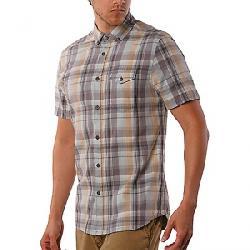 Jeremiah Men's Cecil Herringbone Plaid SS Shirt Blue Oasis