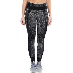 Lole Women's Burst Ankle Legging Black Pointillism