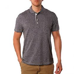 Jeremiah Men's Dixon Twist Yarn SS Jersey Polo Black