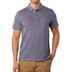 Jeremiah Men's Dixon Twist Yarn SS Jersey Polo Crown Blue