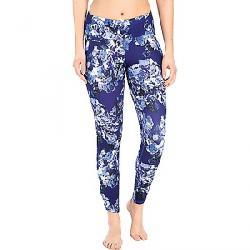 Lole Women's Palmira Ankle Legging Dazzling Blue Spring Bloom
