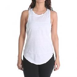 Vimmia Women's Pacific Pintuck Cowl Back Tank Top White