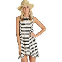 Billabong Women's By And By Dress Black / White