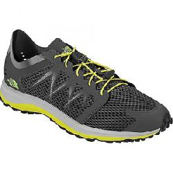 The North Face Men's Litewave Floe Lace Shoe Dark Shadow Grey / Sulphur Spring Green