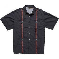 Howler Bros Men's Guayabera Shirt Charred Grey