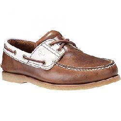 Timberland Men's Timberland Icon 2-Eye Boat Shoe Medium Brown Full-Grain