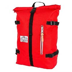 Poler Stuff Classic Rolltop Pack Bright Red