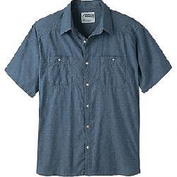 Mountain Khakis Men's Ace Indigo SS Shirt Polkadobby