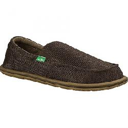 Sanuk Men's Trailgater Mesh Shoe Brown Mesh