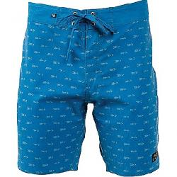 United By Blue Men's Longbow Scallop Boardshort Blue