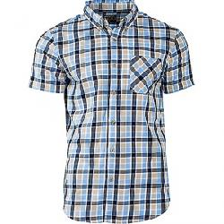 United By Blue Men's Rogers Plaid SS Shirt Light Blue / Navy