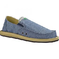 Sanuk Men's Pick Pocket TX Shoe Blue Chambray