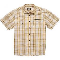 Howler Bros Men's Aransas SS Shirt Avery Plaid / Off White / Maize