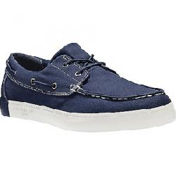 Timberland Men's Newport Bay 2 Eye Boat Oxford Shoe Navy Canvas
