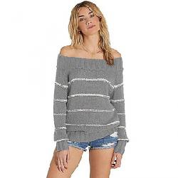 Billabong Women's Snuggle Down Sweater Athletic Grey