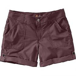Carhartt Women's Relaxed Fit EI Paso 9 Inch Short Deep Wine