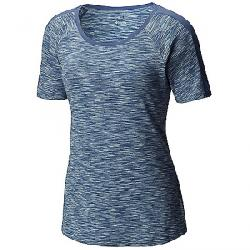 Columbia Women's OuterSpaced SS Tee Bluebell Spacedye