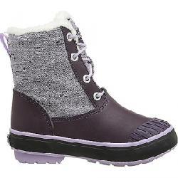 Keen Youth Elsa L Waterproof Boot Plum / Lilac Pastel
