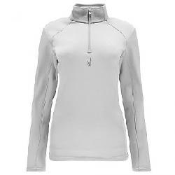 Spyder Women's Savona Therma Stretch T-Neck Top White