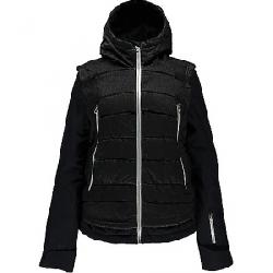 Spyder Women's Moxie Jacket Black Denim / Black / Silver