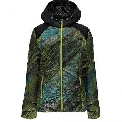 Spyder Women's Bernese Jacket Geo Rays Acid Print / Black