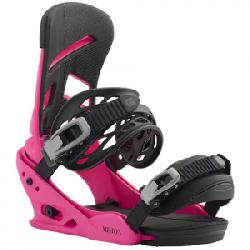 Burton Mission Re:Flex Snowboard Binding Pink Lg