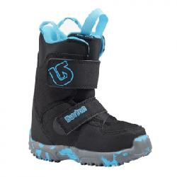 Burton Mini-Grom Snowboard Boot White/purple 12c