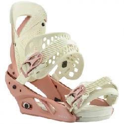 Burton Lexa Snowboard Bindings - Womens Rose Gold Lg