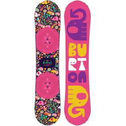 Burton Chicklet Snowboard - Kids' Graphic 125 125
