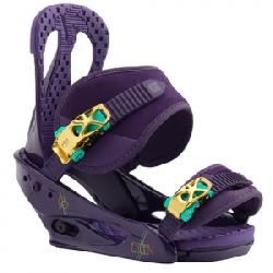 Burton Citizen Snowboard Bindings - Womens Purps Lg