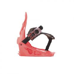 K2 Lil Kat Snowboard Bindings - Kids Pink Xs