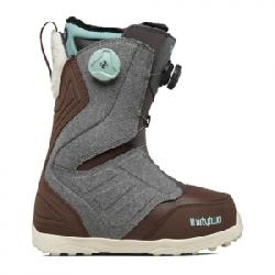 ThirtyTwo Lashed Double Boa(R) Snowboard Boot - Women's Grey/brown 8.5