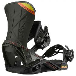 Salomon Defender Snowboard Binding Black/olive Lg