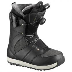 Salomon Ivy Boa SJ Snowboard Boot - Women's Black 27.5