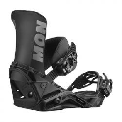 Salomon District Snowboard Bindings Black Lg