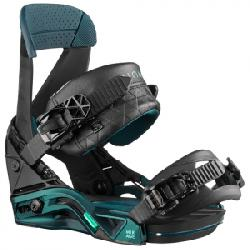 Salomon Mirage Snowboard Bindings - Women's Black/teal Md