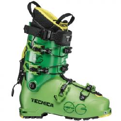Tecnica Zero G Tour Scout Ski Boot Bright Green 27.5