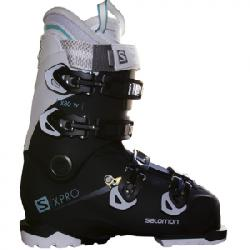 Salomon X Pro X80 CS Ski Boot - Women's Black/white/aruba Blue 23/23.5
