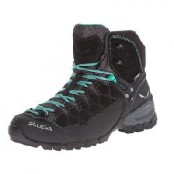 Salewa Alp Trainer Mid GTX Hiking Boot - Women's Black Out/agata 10.0