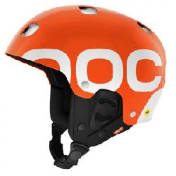 POC Receptor Backcountry MIPS Helmet Iron Orange Sm
