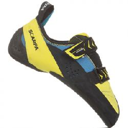 Scarpa Vapor V Rock Climbing Shoe - Men's Ocean/yellow 43.0