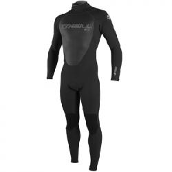 O'Neill Youth Epic 3/4mm Back Zip Full Wetsuit Blk/blk/blk 14