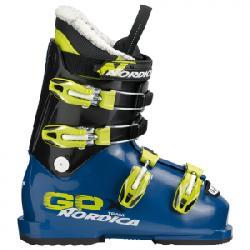 Nordica GPX Team Ski Boot - Kid's Blue/lime 26.5