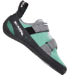 Scarpa Origin Rock Climbing Shoes - Women's Green Blue/smoke 40.5