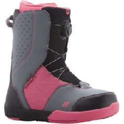 K2 Kat Snowboard Boot - Girl's Black 3