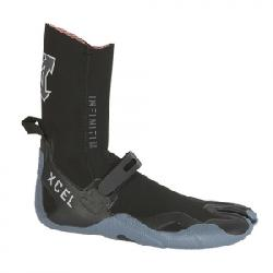 XCEL 5mm Infiniti Split Toe Wetsuit Booties Bgr 12