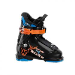 Tecnica JT 1 Cochise Ski Boots - Kid's Black Orange 15.5