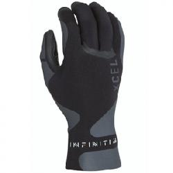 XCEL 1.5mm Infiniti 5 Finger Wetsuit Gloves Black Md
