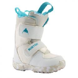 Burton Mini-Grom Snowboard Boot - Kid's White 8c